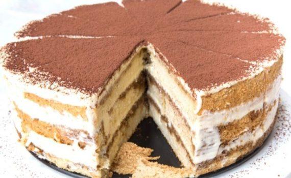 piskótás tiramisu torta