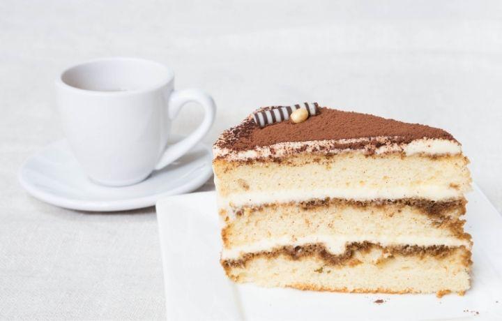 tiramisu torta piskótával